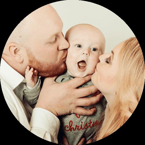 Tolle Familienfotos bei Fotografin Heike Krause